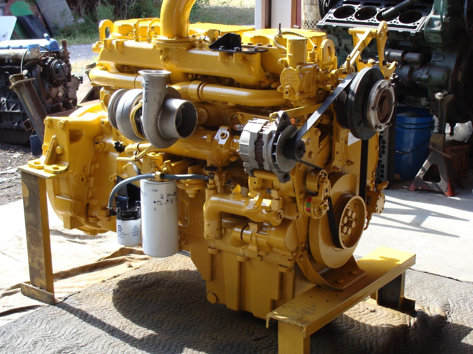 diesel engine machine shop