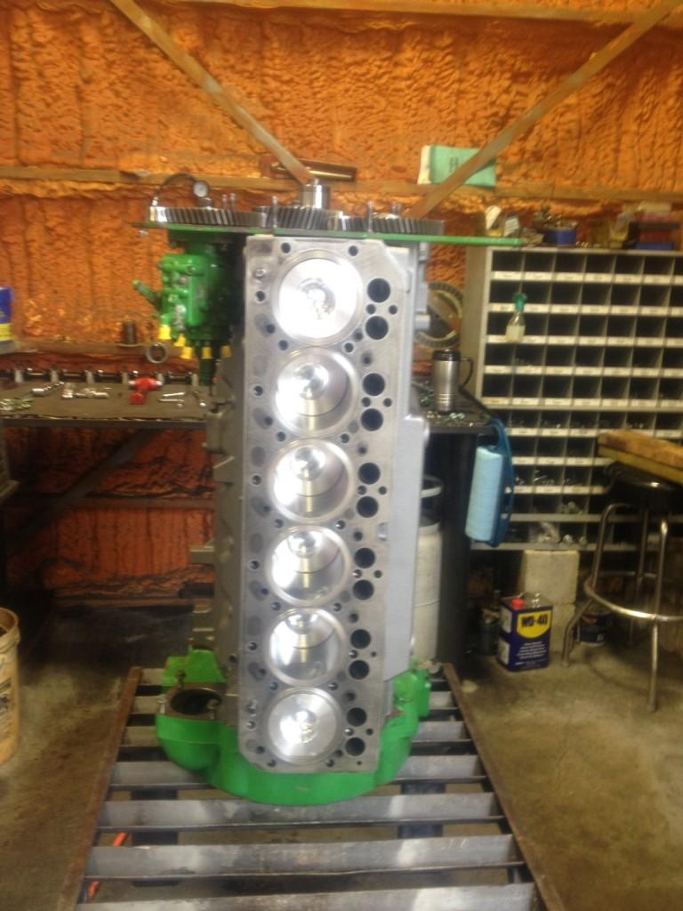BS Machine Shop specializes in diesel engine rebuilding too.